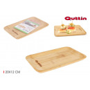 wholesale Crockery: rectangular bamboo tray 20x12cm quttin