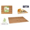 groothandel Overigen: snijplank bamboe 38x30cm quttin