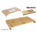 bamboo cutting board 2 edges 45x25cm quttin