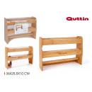 bamboo kitchen roll holder 36x25.5x10 quttin