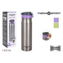ouvre-porte mat thermo inox 500ml