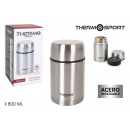 stainless steel food thermos 800ml thermosport