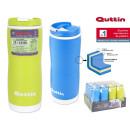 plastic thermos bottle 400ml quttin