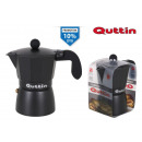 coffee machine met 3 services darkblack quttin