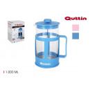 wholesale Decoration: 1000ml quttin glass coffee jug