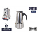 Quttin stainless steel induction 2 service coffee