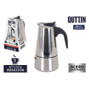 Quttin stainless steel induction 9 service coffee