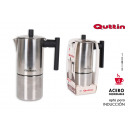 coffee maker 4 serv. induct. inox tower quttin