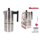 coffee maker 9 serv. induct. inox tower quttin