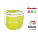 lunch box thermostable stackable x 2 quad quttin