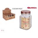 groothandel Huishouden & Keuken: Multifunctionele glazen pot van 1 liter. koper qut