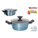 20cm full induction saucepan with lid venus