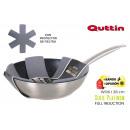 wholesale Burning Stoves: wok pan 28x8cm full indplatinum quttin