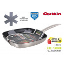 28cm full induction grill pan platinum quttin