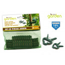 Großhandel Garten & Baumarkt: Set mit 20 kleinen -Kunststoff Gartenpinzetten