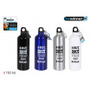 750ml aluminum sport water bottle bewinner