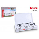 3 burner gas stove with lid 60x33 algon
