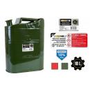 Serbatoio benzina in metallo da 10 litri