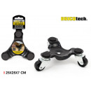 wholesale Toys: metal base with wheels 25x25x7cm bricolajetech