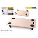 groothandel Speelgoed: houten basis met wielen 57.5x29x1.8cm ...