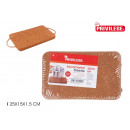 Cork placemat with handles 25x15cm privile