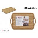 43x29cm wooden tray privilege handles