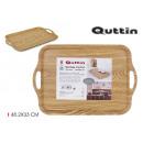 wooden tray 48.2x33cm privilege handles