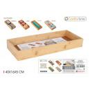 Bambusowe pudełko do przechowywania 40x16x5cm Conf