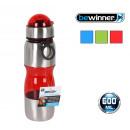 Großhandel Lunchboxen & Trinkflaschen: Sportflasche 600 ml plast / met