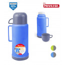 wholesale Thermos jugs: plastic thermos with 0.45l cup privilege