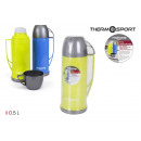 wholesale Thermos jugs: plastic thermos with 0.50l cup privilege