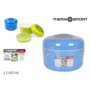 Thermoskanne Lebensmittel Kunststoff 2500m Privile