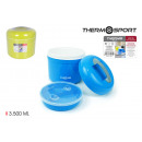 thermo food plastic 3500ml privilege