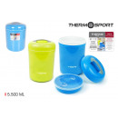 wholesale Thermos jugs: thermos food plastic 5500m privilege