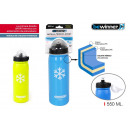wholesale Fashion & Apparel: pu sport 550ml thermal bottle push bewinner