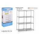 wholesale Home & Living: shelving nw 6comp 68x35x102cm confortime