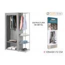 removable wardrobe tnt 105x43x172c confortim
