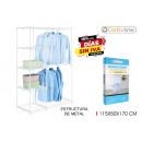 removable wardrobe 115x50x170cm confortime