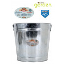 wholesale Cleaning: metal trash bin 14 litres little garden