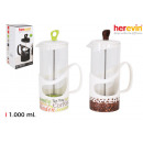 wholesale Home & Living: coffee jug dec. 1000ml crystal