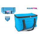 Großhandel Taschen & Reiseartikel: weiche blaue Kühlschranktasche 48x21x31cm