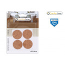 set of 4 cork adhesive protector 3.8cm conf