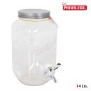 wholesale Garden & DIY store: 4l tap dispensing jar. privilege