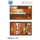 wholesale Carpets & Flooring: pvc multipurpose doormat 40x60 printed confortime