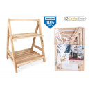 wooden shelf 2 nive36x30x465 confortime