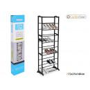 wholesale Home & Living: metal shoe rack 40 pair 72x25x140cm confortime