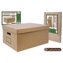 groothandel Woondecoratie: multifunctionele box bruin 53x40x26