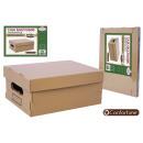 wholesale Home & Living: multi-purpose box brown 30x22,5x12,5