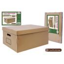 többcélú doboz barna 45x35x20