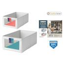 wholesale Decoration: ordering box 27x42x17cm polyest comfort